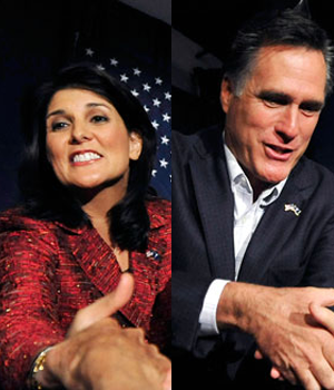 Romney Draws Crowd in Myrtle Beach